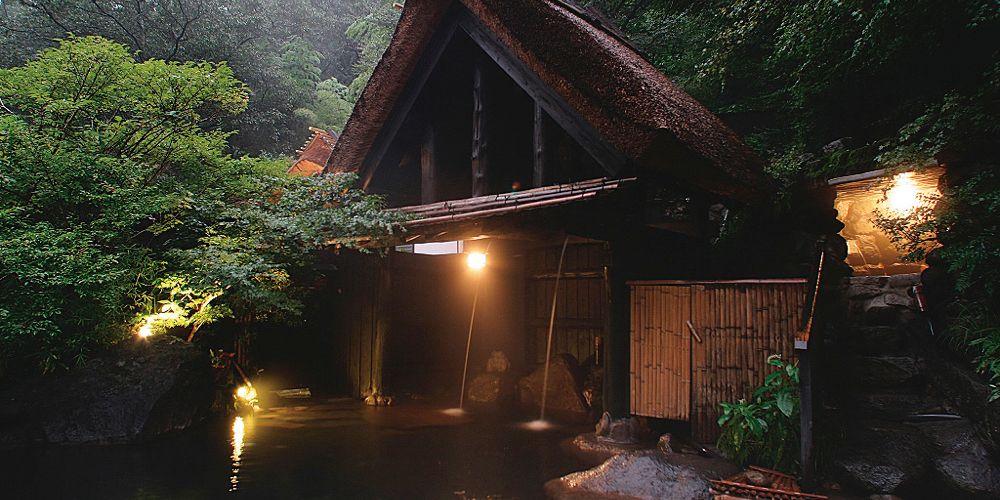 旅館奥の湯<熊本県・黒川温泉>