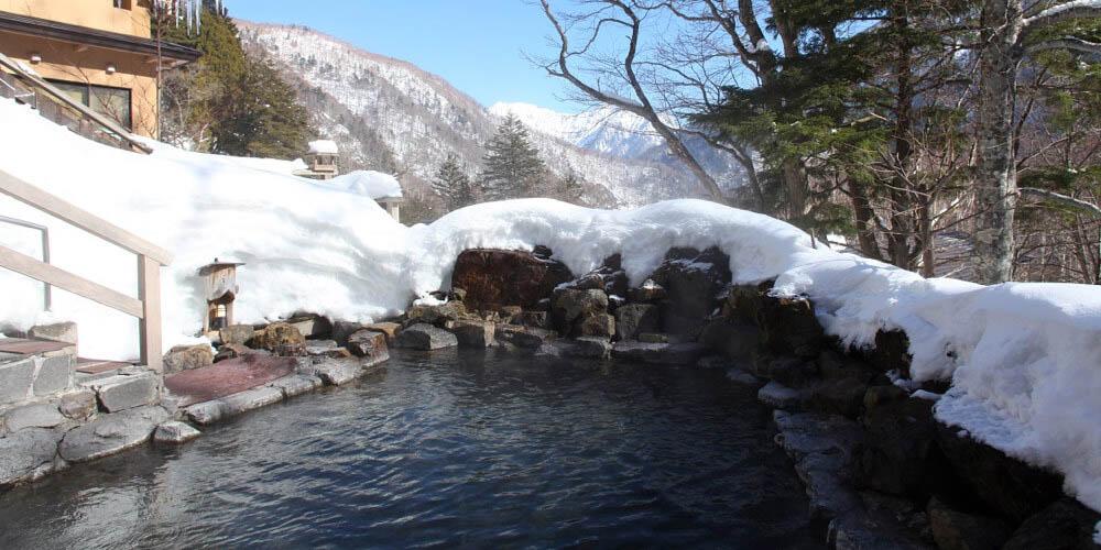 中の湯温泉旅館<長野県・上高地 >